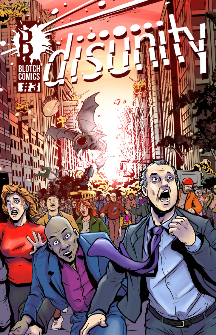 Issue 3 cover art
